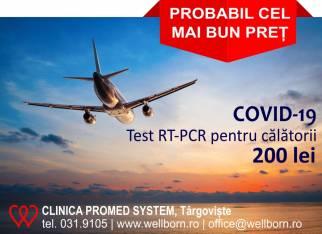 Analize Covid-19, Clinica Promed System Târgoviște