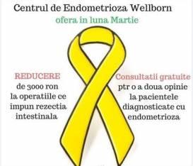 Consultatii gratuite oferite in Centrul de Excelenta in Diagnosticul si Tratamentul Endometriozei Wellborn!